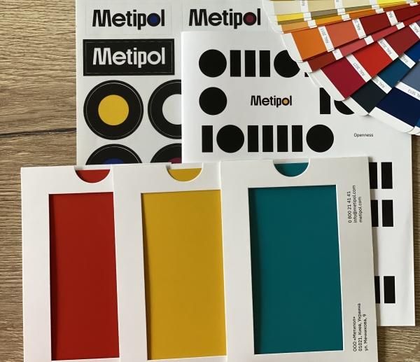 126 кольорів по каталогу RAL було використано у виробництві продукції під маркою Metipol за 2020 рік. Ми підтвердили, що виконаємо замовлення будь-якої складності.