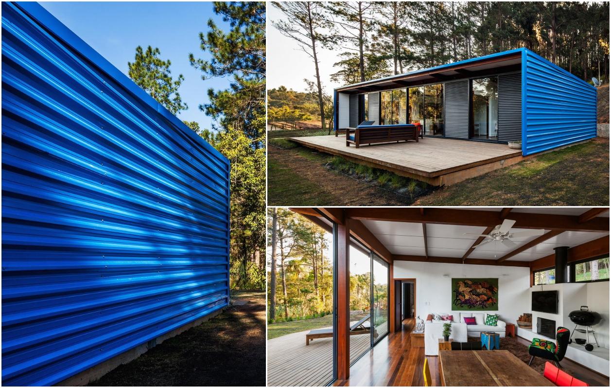 Дім з профнастилу: OZ House / Andrade Morettin Arquitetos Associados