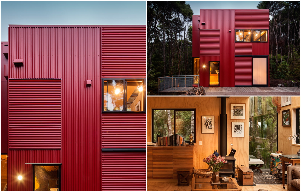Дім з профнастилу: Titirangi / Crosson Architects